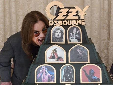 Ozzy llegando