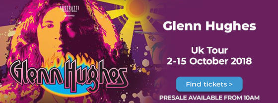 Glenn Hughes vuelve a Deep Purple