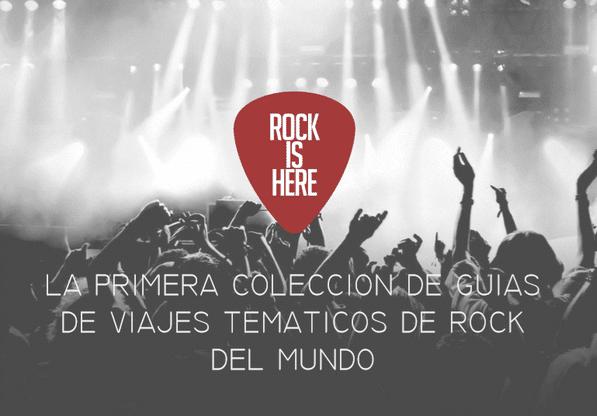Rock Is Here se renueva: desde abril, nueva web, nuevo libro y…