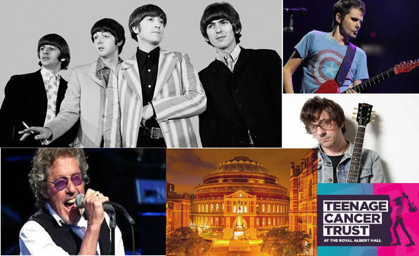 Un mix de Matt Bellamy, Grahan Coxon, Roger Daltrey & The Beatles. Y en el Royal Albert Hall
