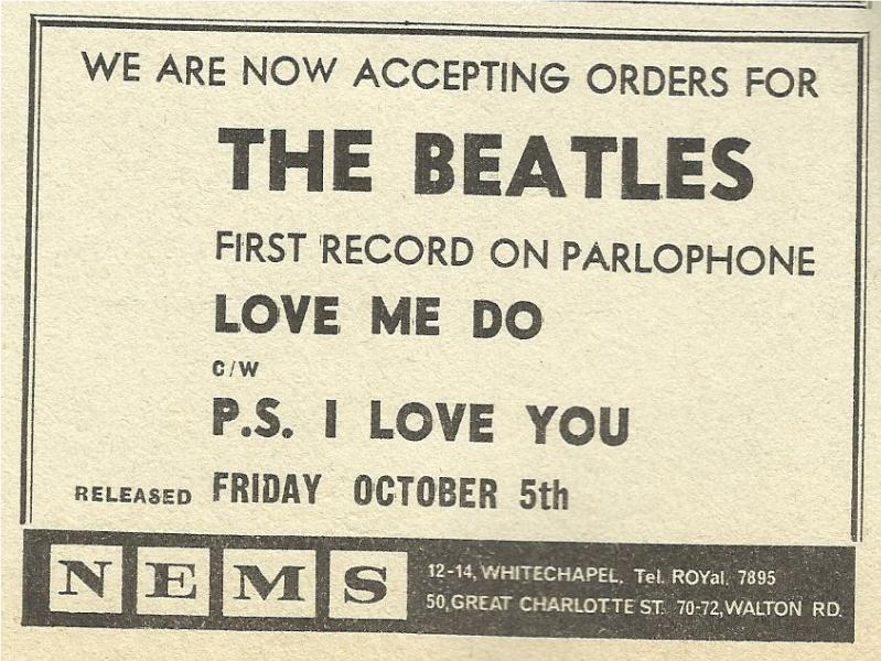 Love Me Do: a 56 años del inicio de la Revolución