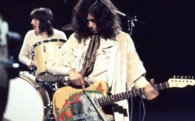 Jimmy Page clonó la guitarra que usó en el álbum debut de Led Zeppelin