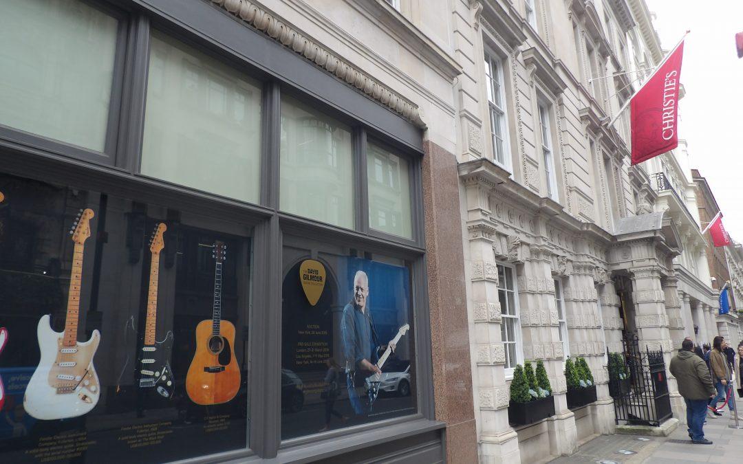 Tour Progresivo con entradas para la exhibición de guitarras de Dave Gilmour