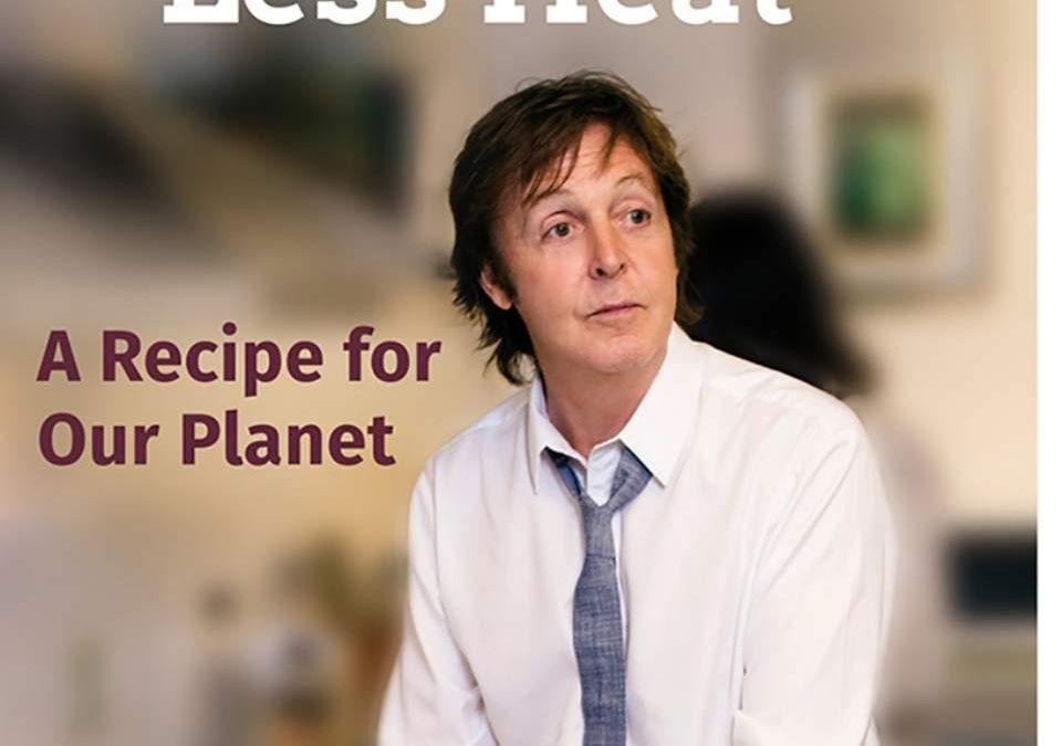 Nuevo libro de Paul McCartney contra el calentamiento global
