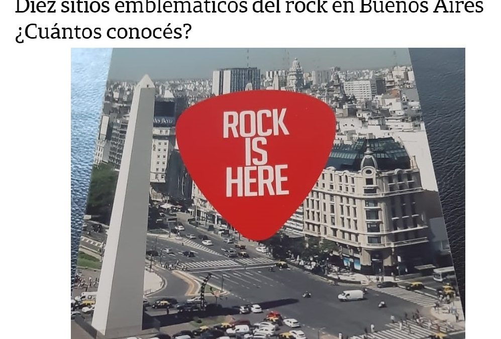 Diario La Nación y Rock Is Here, parte 2