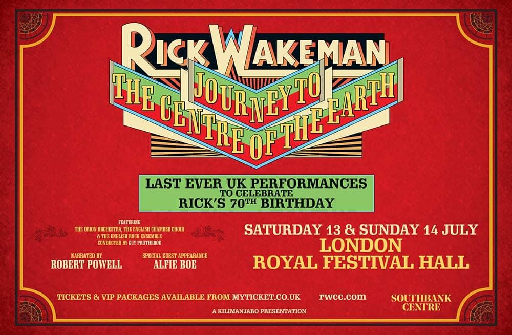 El eterno viaje de Rick Wakeman
