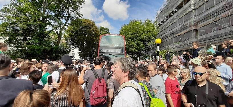 Abbey Road 50 (1era parte): la foto, afuera, en la senda