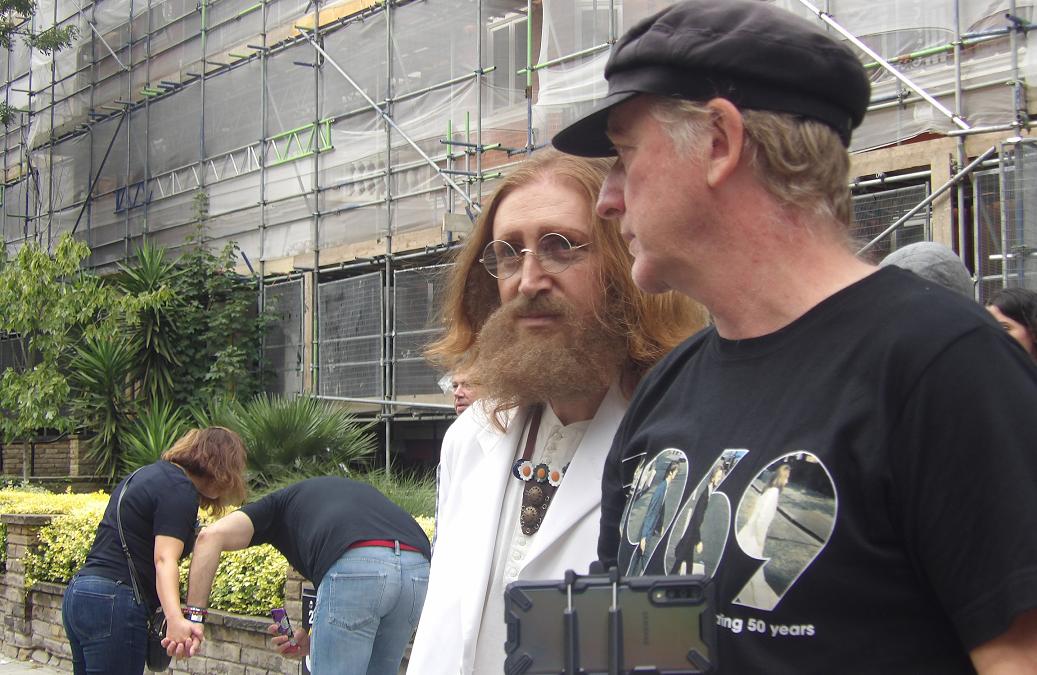 Abbey Road 50 o la entrevista del último tren de Londres