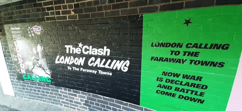 La exhibición por los 40 años de London Calling