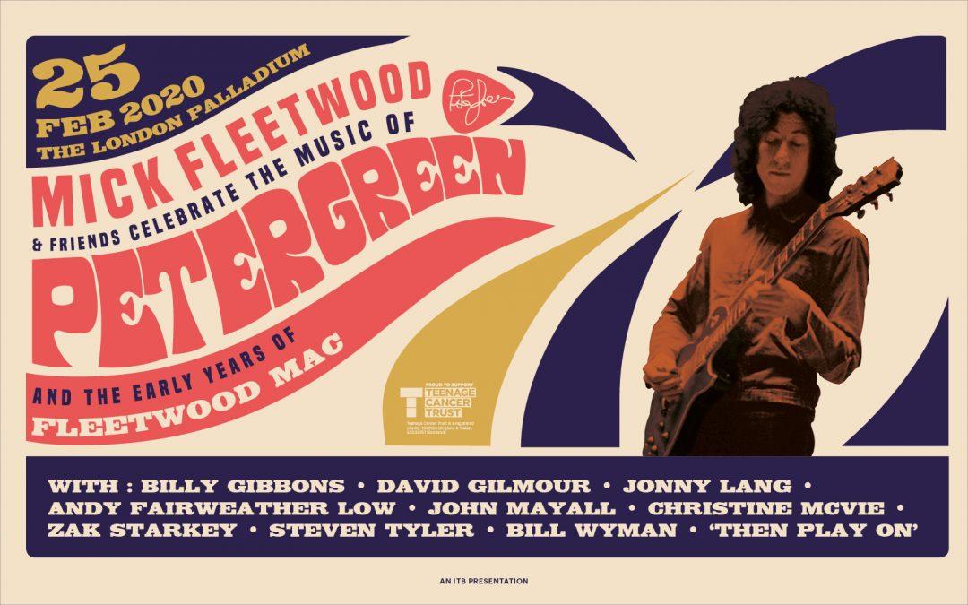 Mick Fleetwood y Amigos celebran la música de Peter Green