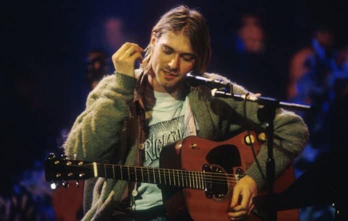 La guitarra de Kurt Cobain en MTV, en subasta