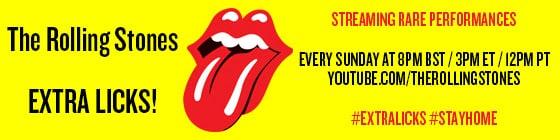Los Stones en Sudamérica desde su canal en YouTube