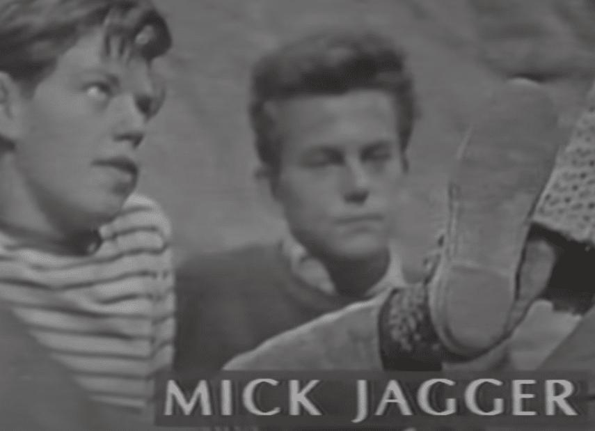 Mick Jagger buscando fama antes de tiempo