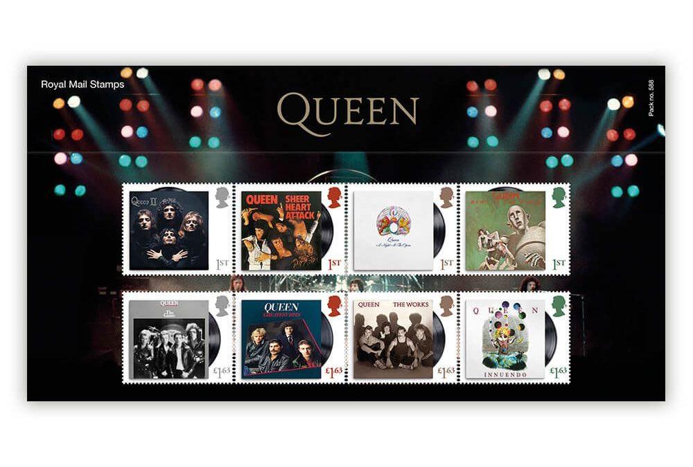 Las estampillas de Queen
