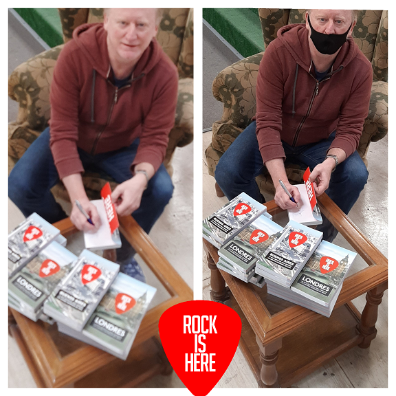 Libros Rock Is Here autografiados